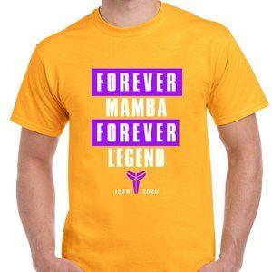 Forever Mamba Forever Legend T-Shirt Kobe Bryant